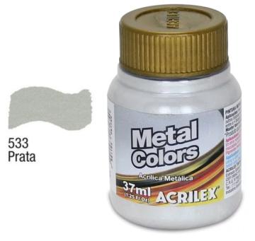Tinta Metal Colors Prata apenas 8,50