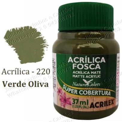 220 Verde Oliva